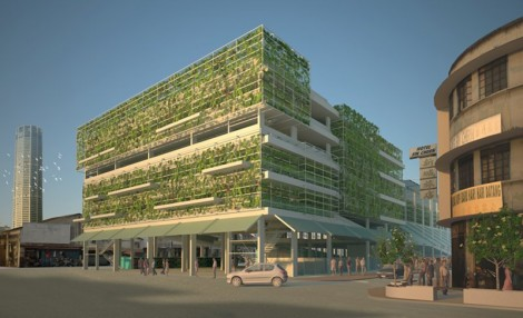 new look for chowrasta market proposed 2012