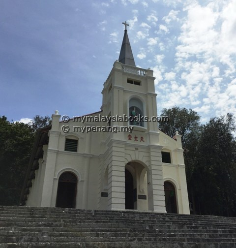 Old church now called St. Anne Shrine, BM, Penang